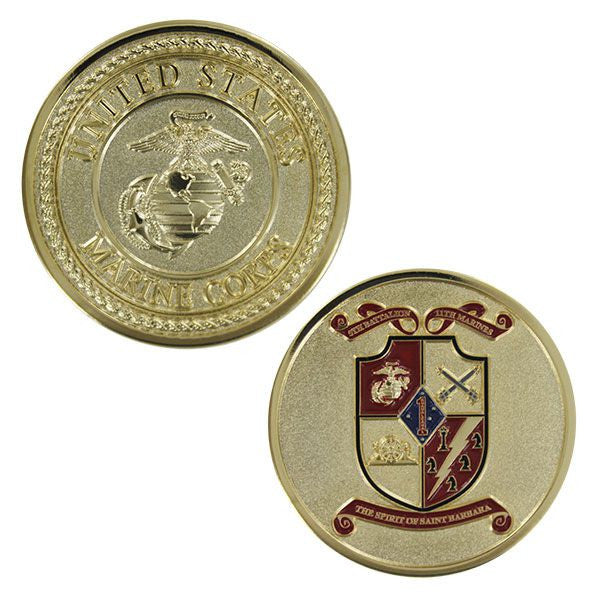 Marine Corps Coin: Fifth Battalion Eleventh Marines