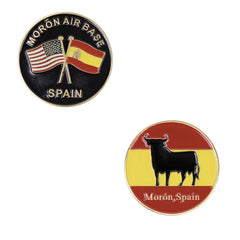 Coin: Moron Air Base, Moron Spain