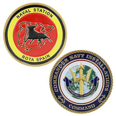 Navy Coin: Naval Station Rota Spain