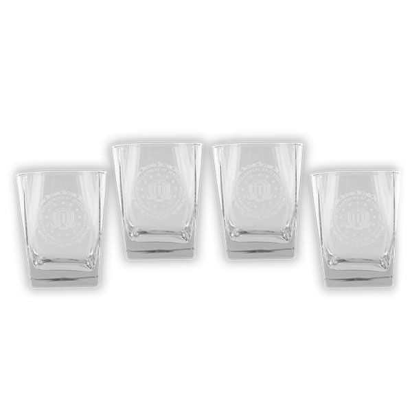 FBI Glassware: Set of 4 Glasses