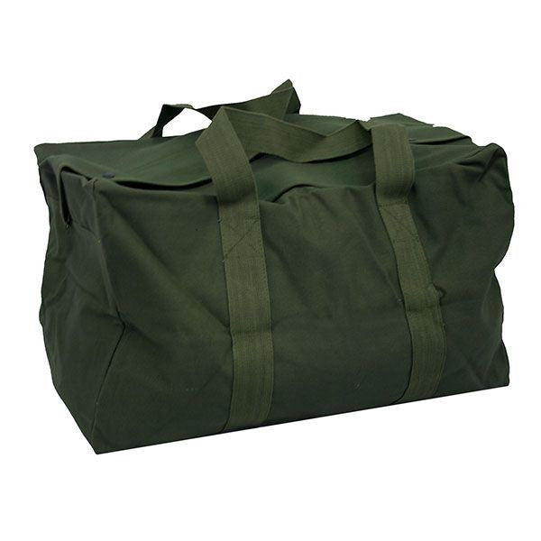Navy Luggage: Parachute Cargo Bag