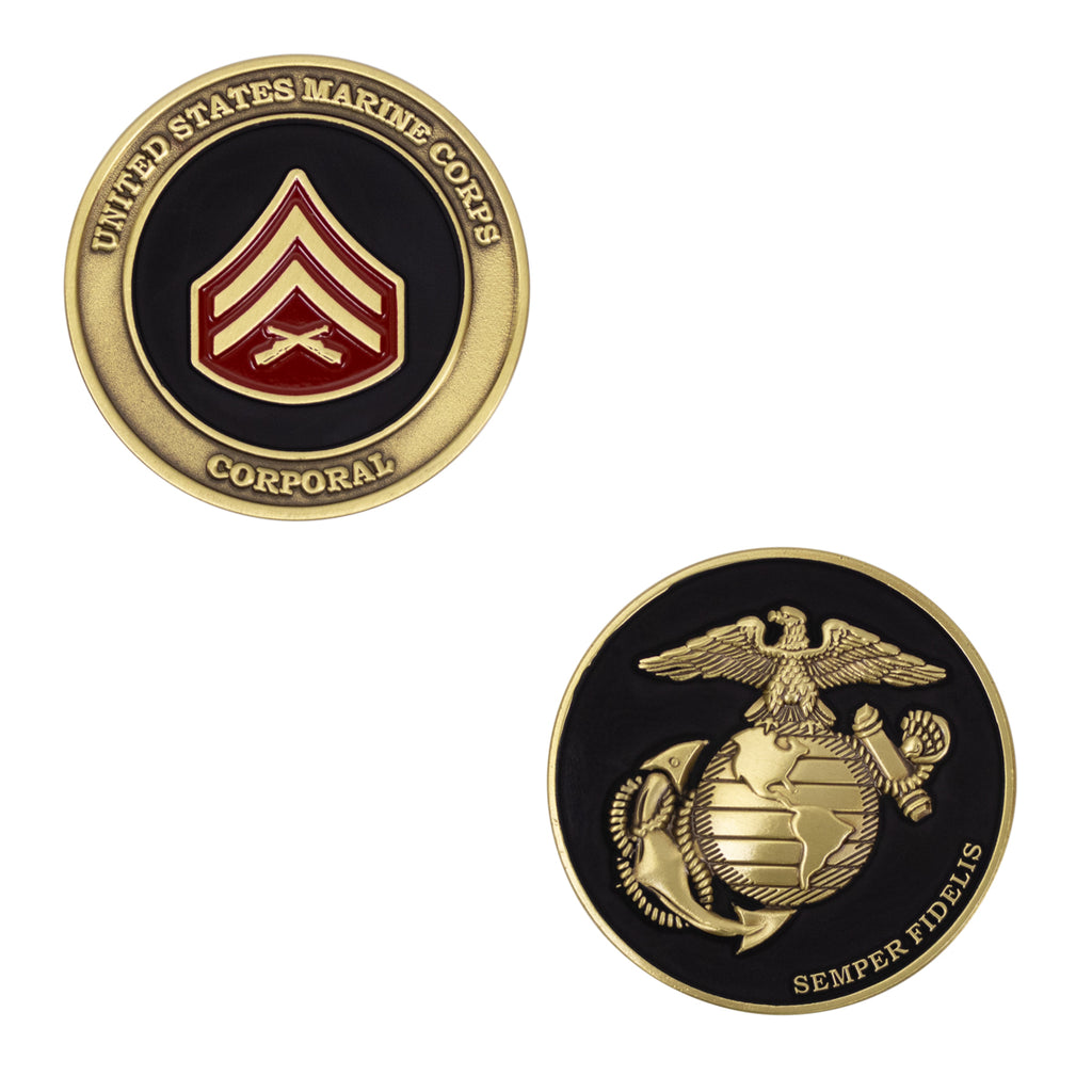 Marine Corps Coin: Corporal 1.75