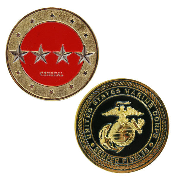 Marine Corps Coin: General