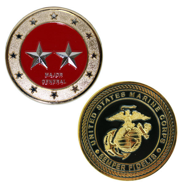 Marine Corps Coin: Major General