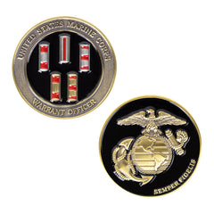 Marine Corps Coin: Warrant Officers 1.75