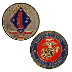 Coin: Marine Corps 1st Battalion 1st Marines