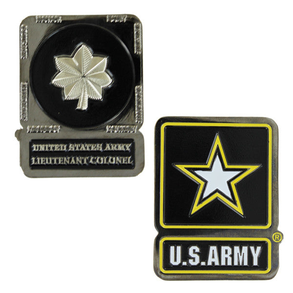 Army Coin: Lieutenant Colonel
