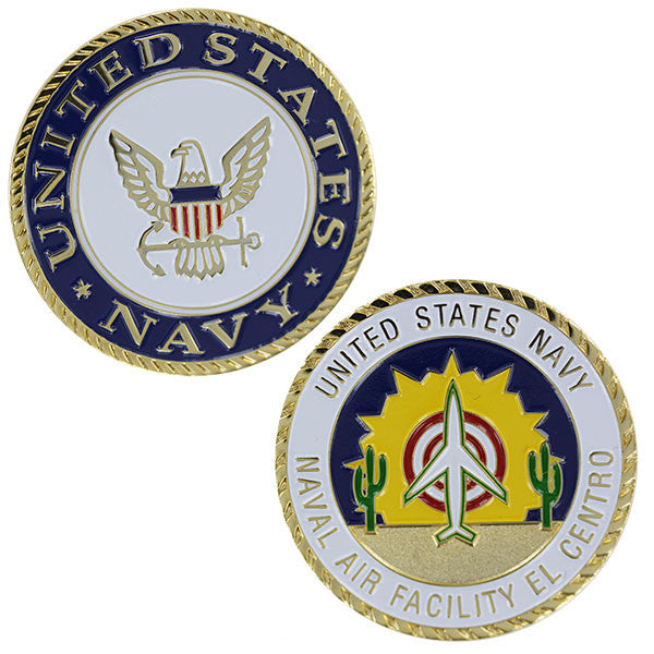 Navy Coin: United States Navy Naval Air Facility El Centro