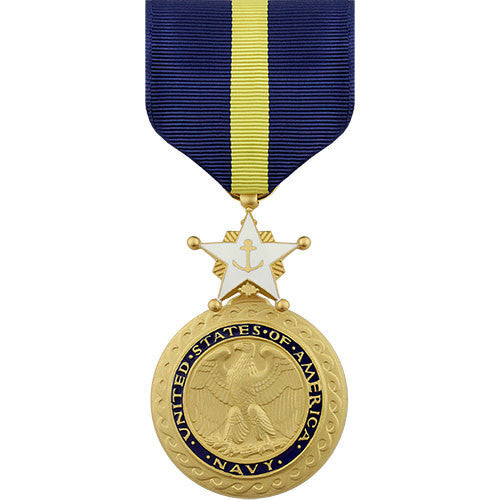 Full Size Medal: Navy and Marine Corps Distinguished Service