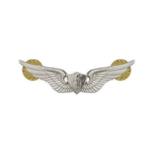 Army Badge: Aircraft Crewman - miniature, mirror finish