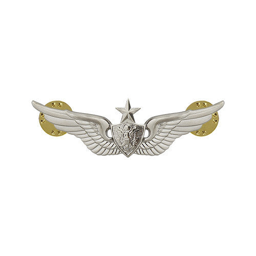 Army Badge: Senior Aircraft Crewman - miniature, mirror finish