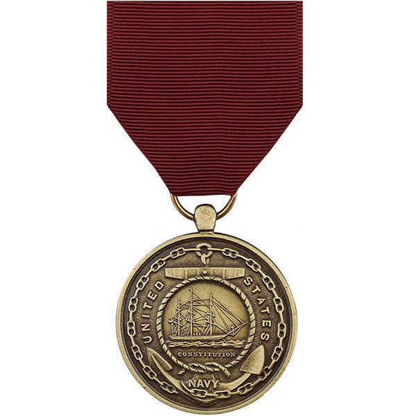 Full Size Medal: Navy Good Conduct