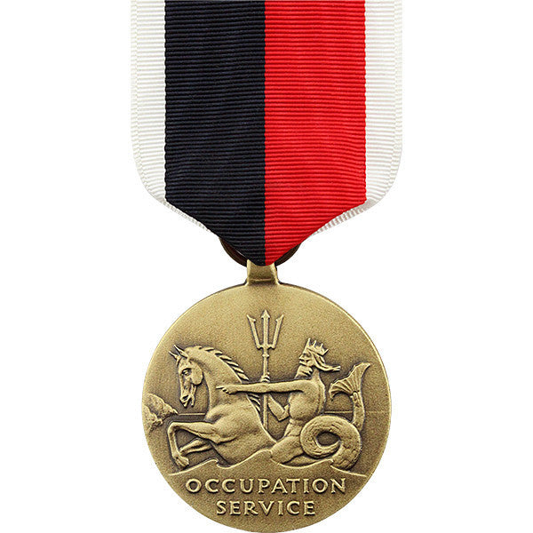 Full Size Medal: WWII Occupation Navy and Coast Guard