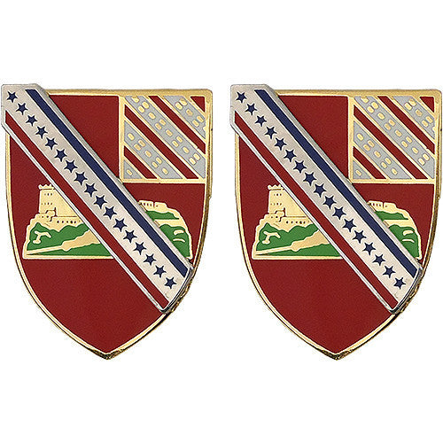 Army Crest: 17th Field Artillery
