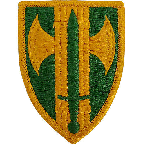 Army Patch: 18th Military Police Brigade - color
