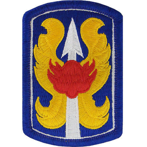 Army Patch: 199th Infantry Brigade - color