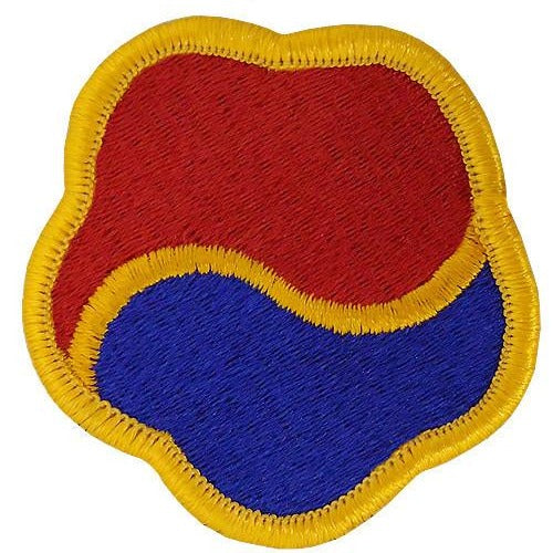 Army Patch: 19th Support Command - color