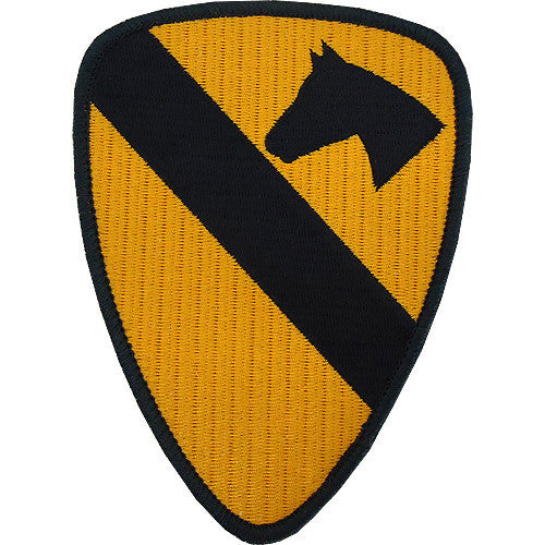 Army Patch: First Cavalry - color