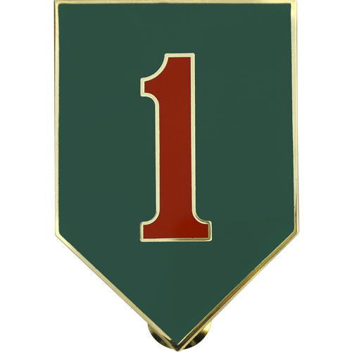 Army Combat Service Identification Badge (CSIB): 1st Infantry Division