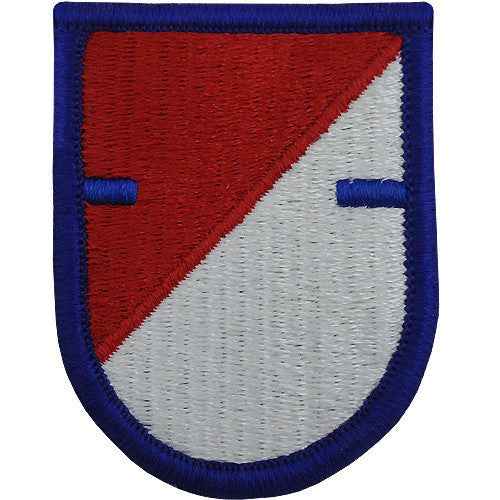 Army Flash Patch: First Squadron 40th Cavalry Regiment - with notch