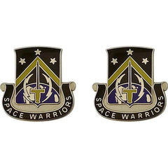 Army Crest: First Space Battalion - Space Warriors