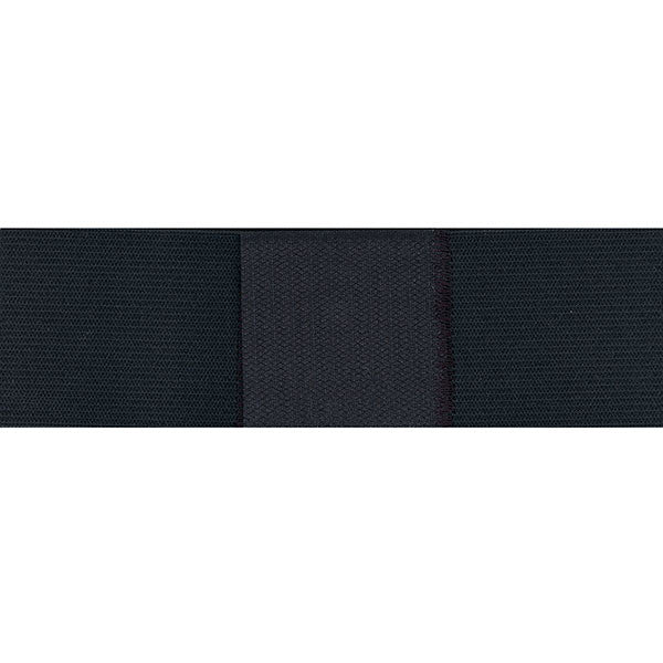Navy Mourning Band: black elastic with hook closure