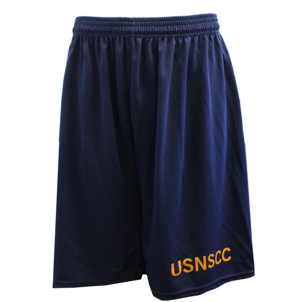 USNSCC / NLCC - PT SHORTS NAVY BLUE
