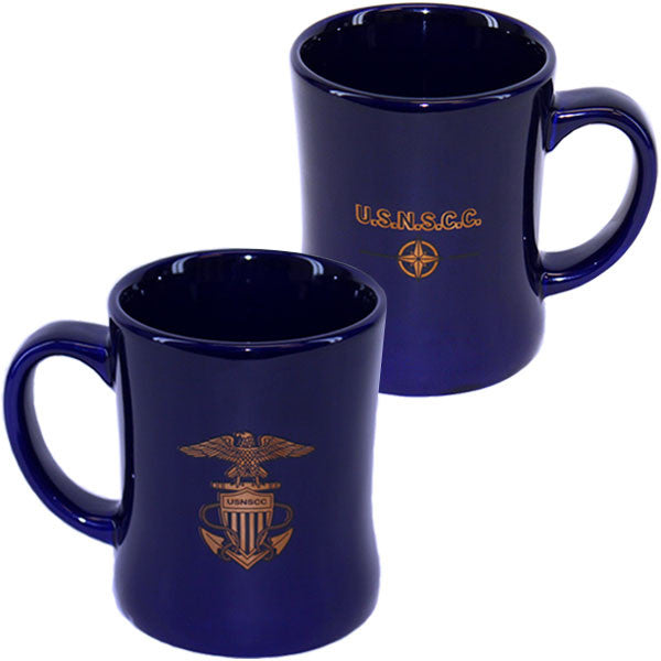 USNSCC - Blue Coffee Mug with Logo and Compass