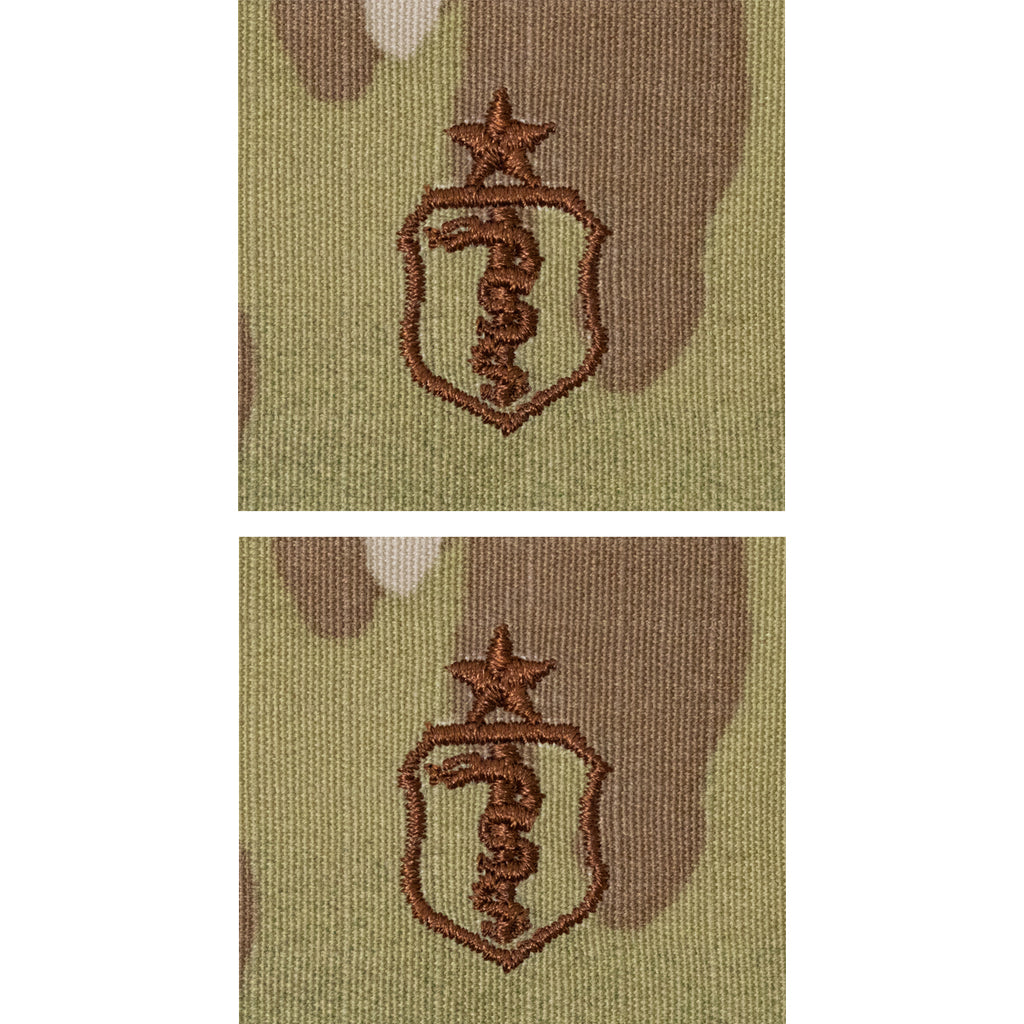 Air Force Embroidered Badge: Bio Medical: Senior - embroidered on OCP