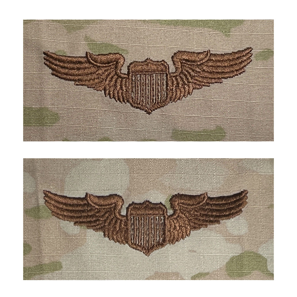 Air Force Embroidered Badge: Pilot - OCP