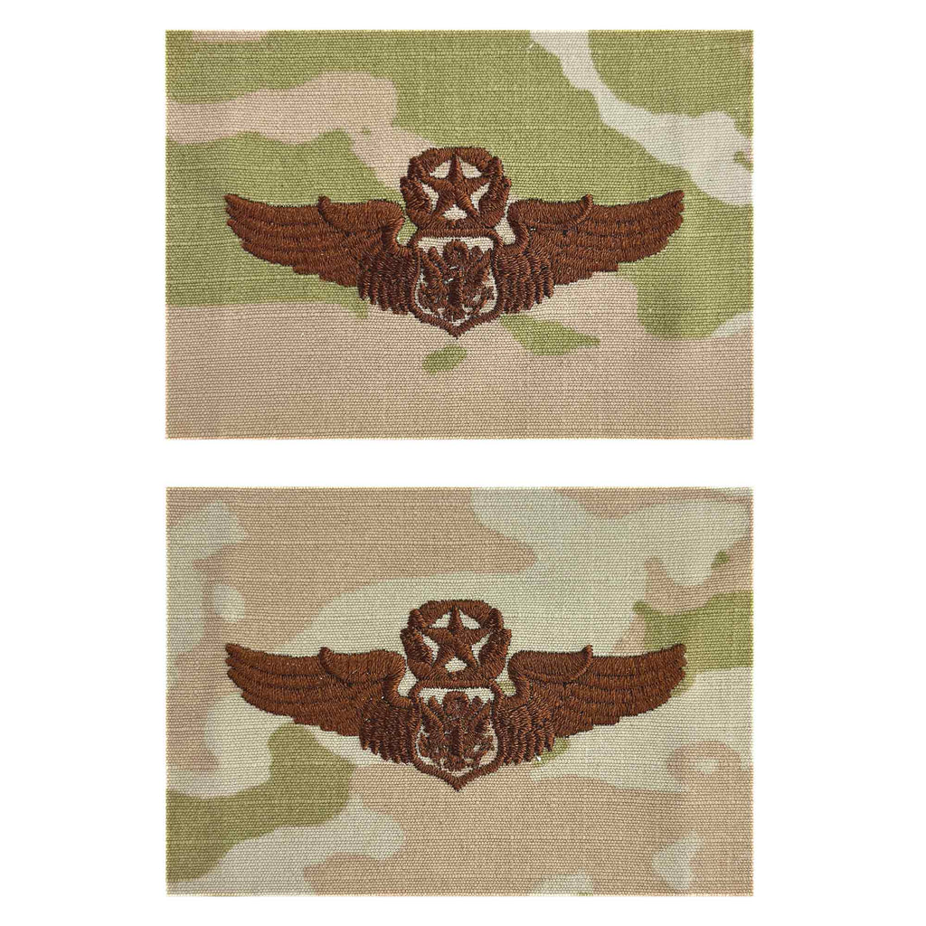 Air Force Embroidered Badge: Officer Aircrew: Master - embroidered on OCP
