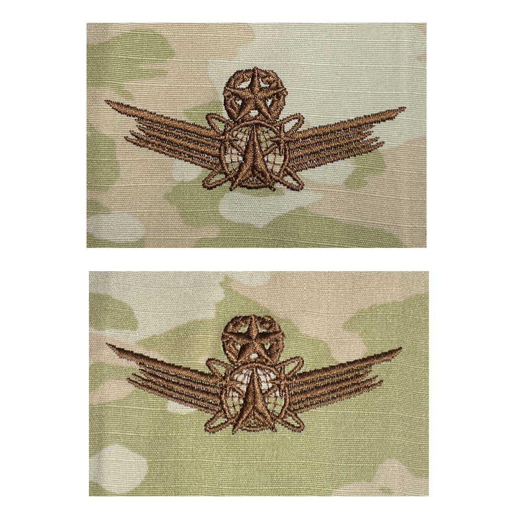 Air Force Embroidered Badge: Command Space - embroidered on OCP