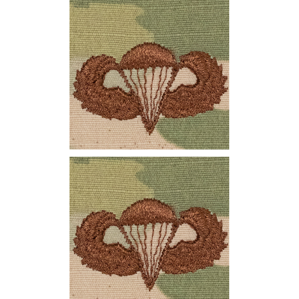 Air Force Embroidered Badge: Parachutist - OCP