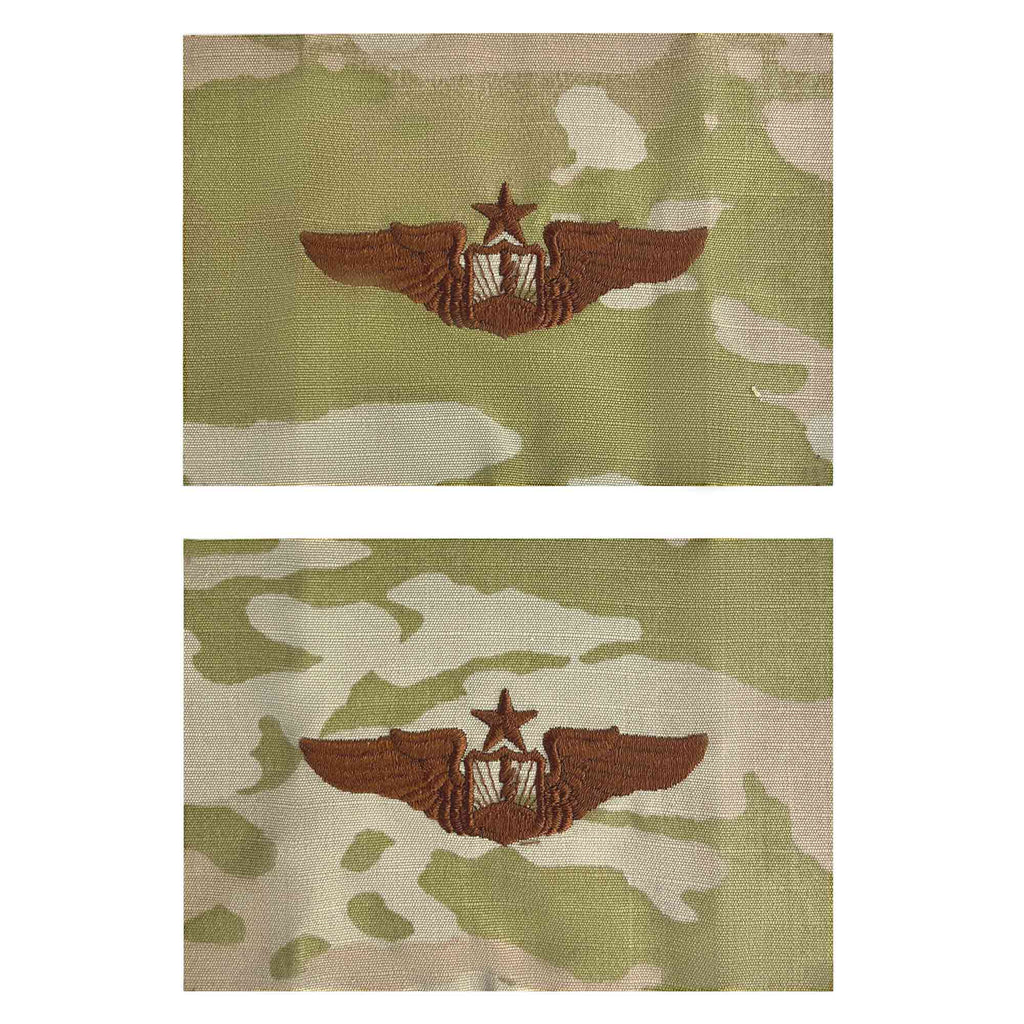 Air Force Embroidered Badge: Unmanned Aircraft Systems Senior - embroidered on OCP