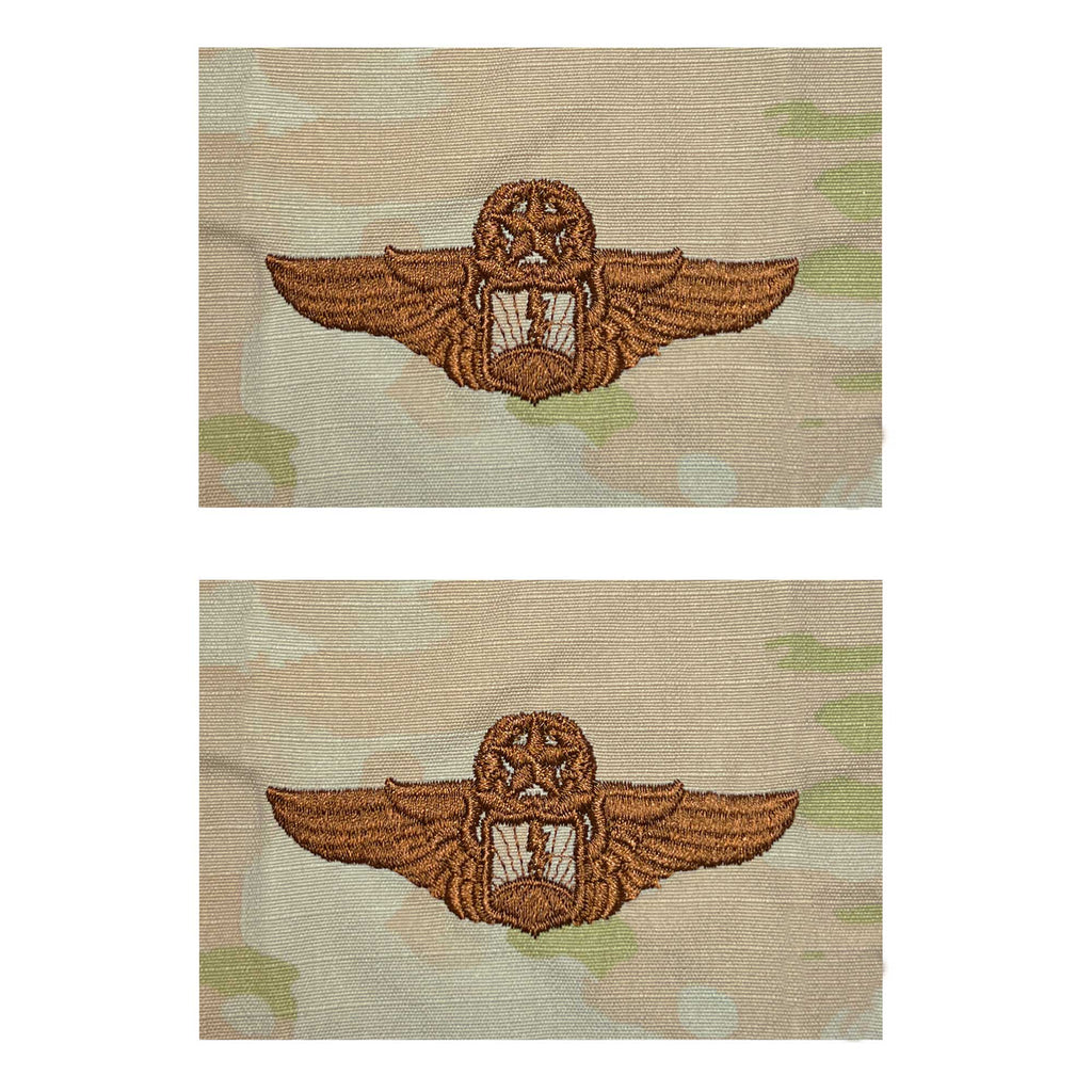 Air Force Embroidered Badge: Officer Remotely Piloted Aircraft Sensor Master - embroidered on OCP