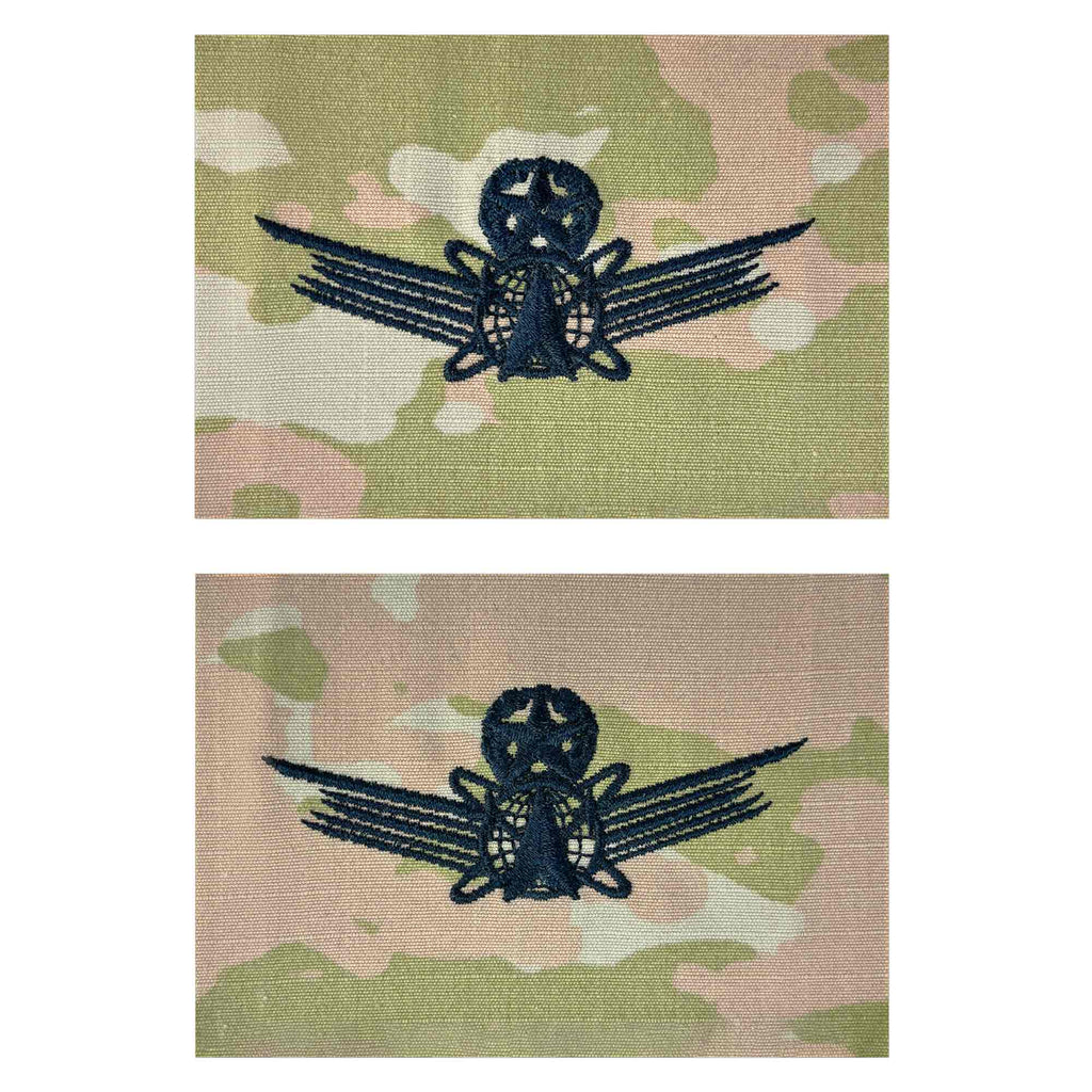 Army Embroidered Badge on OCP Sew On: Space - Master
