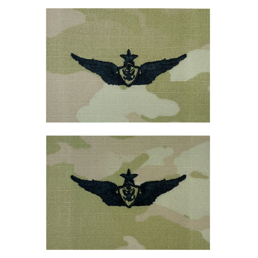 Army Embroidered Badge on OCP Sew on: Aircraft Crewman - Senior