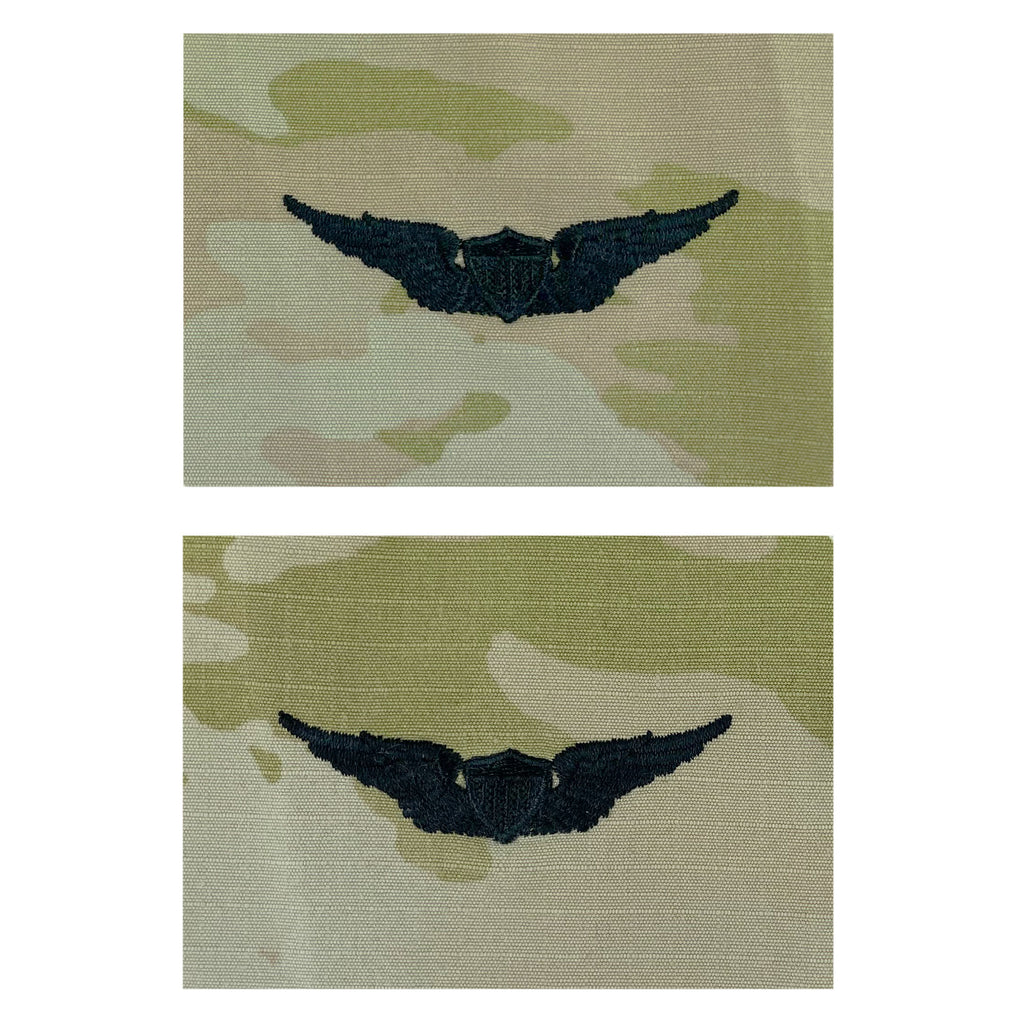 Army Embroidered Badge on OCP Sew on: Aviator - Basic