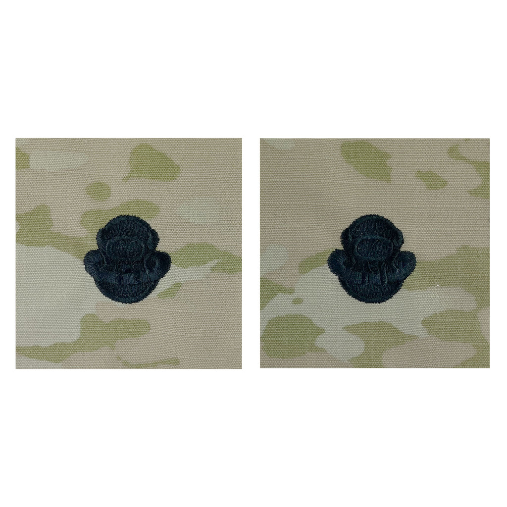 Army Embroidered Badge on OCP Sew On: Diver - Scuba