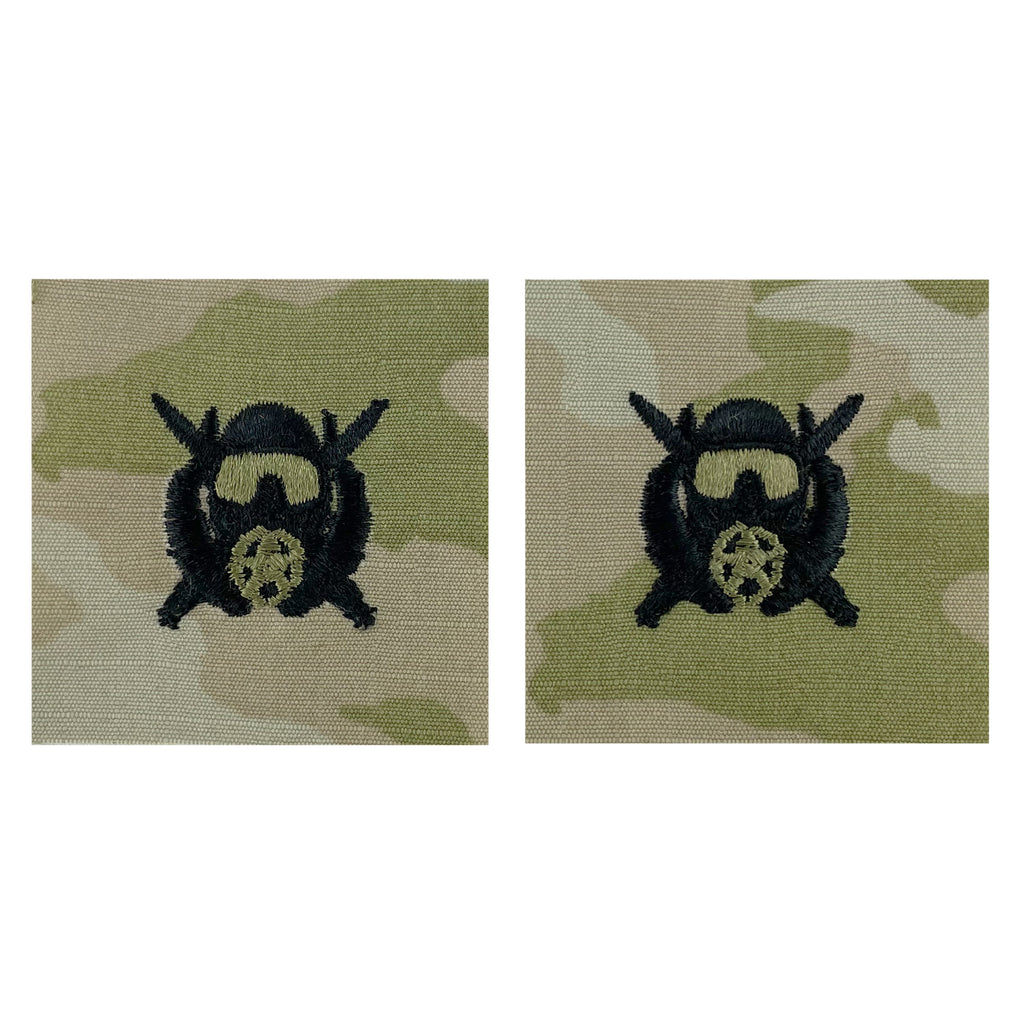 Army Embroidered Badge on OCP Sew On: Diver - Special Operations Supervisor
