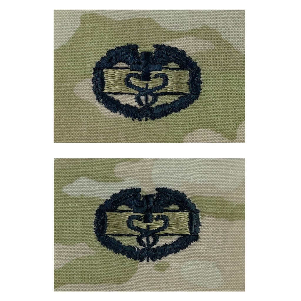 Army Embroidered Badge on OCP Sew On: Combat Medical - 1st Award