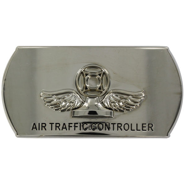 Navy Enlisted Specialty Belt Buckle: Air Traffic Controller: AC