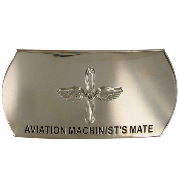 Navy Belt Buckle: Enlisted Aviation Machinist's Mate