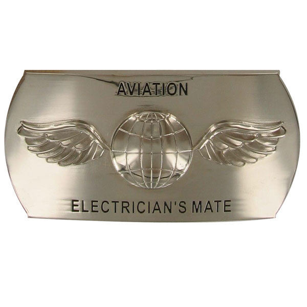 Navy Enlisted Specialty Belt Buckle: Aviation Electrician's Mate: AE