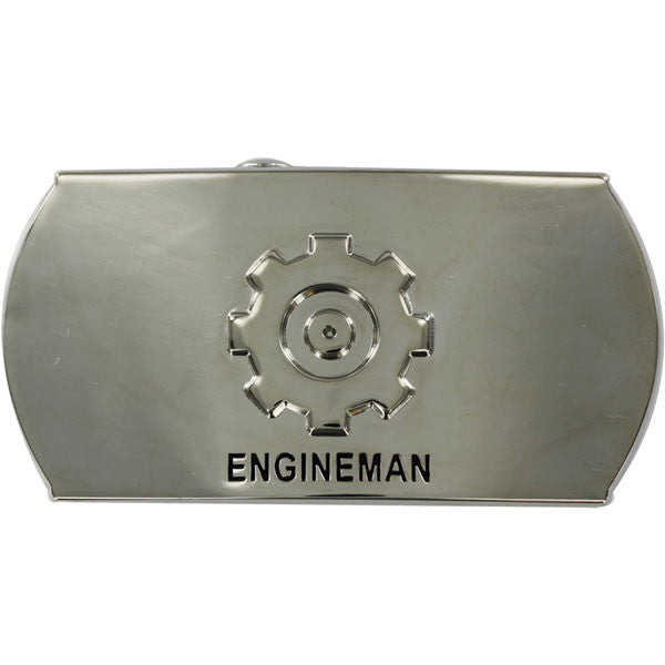 Navy Enlisted Specialty Belt Buckle: Engineman: EN