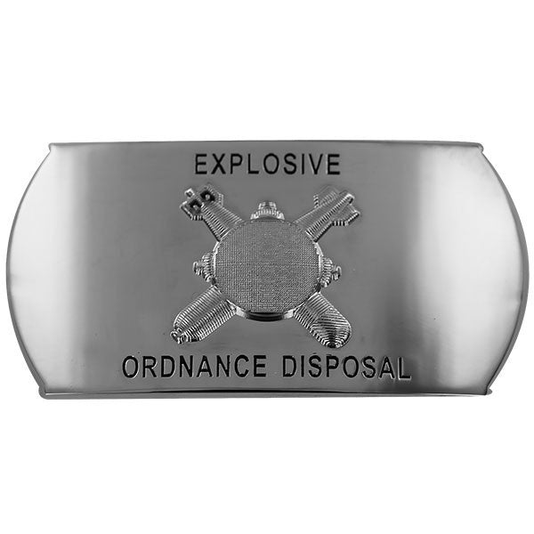 Navy Enlisted Specialty Belt Buckle: Explosive Ordnance Disposal: EOD