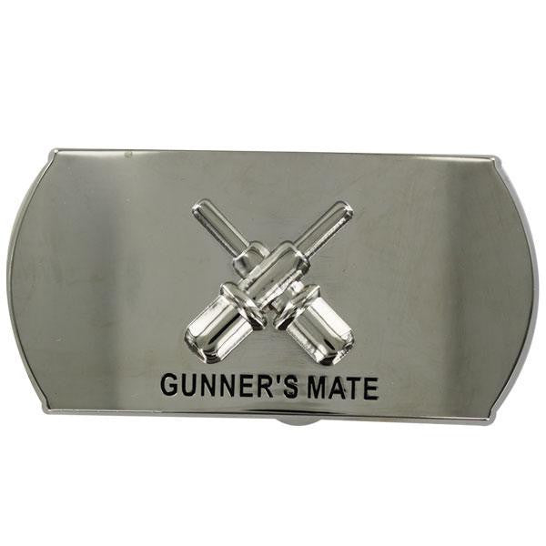Navy Enlisted Specialty Belt Buckle: Gunner's Mate: GM