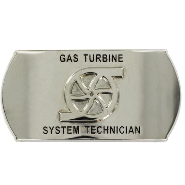 Navy Enlisted Specialty Belt Buckle: Gas Turbine System Technician: GS