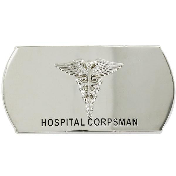 Navy Enlisted Specialty Belt Buckle: Hospital Corpsman: HM