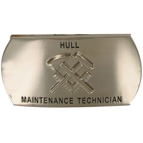 Navy Enlisted Specialty Belt Buckle: Hull Maintenance Technician: HT